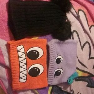 Quirky hat set